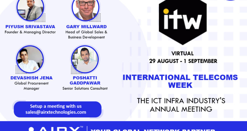 AIRX attending ITW 2021